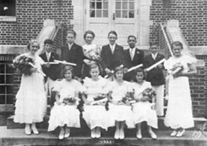 8th Grade Class from 1933